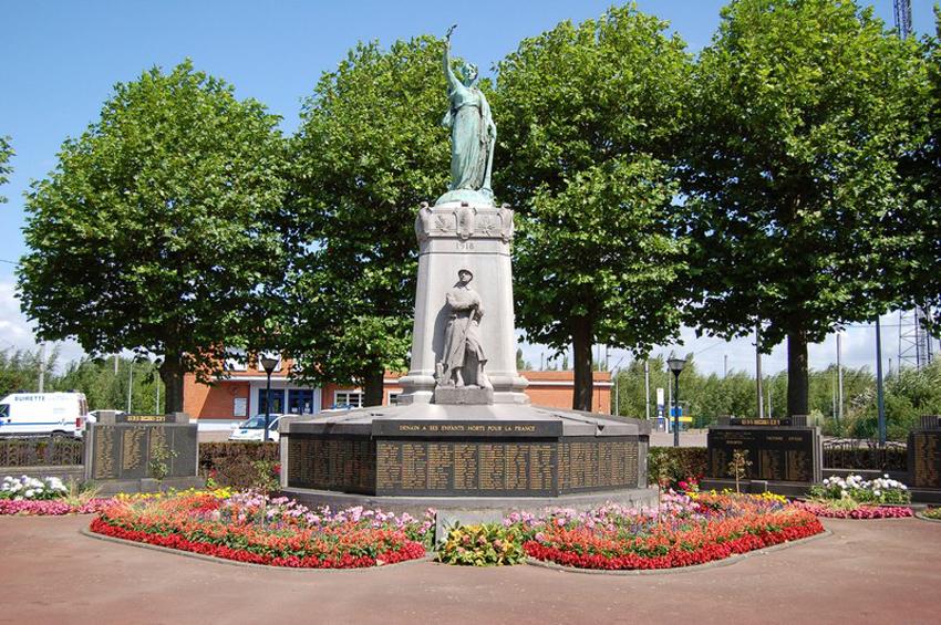 monument aux morts en anglais