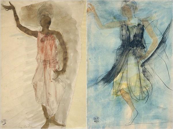auguste rodin dancing figure