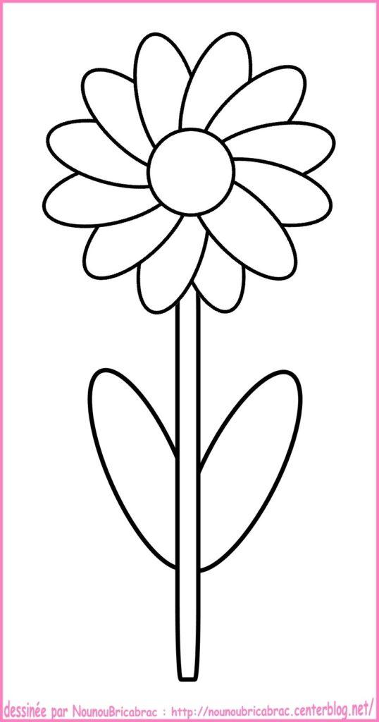 fleurs facile a dessiner