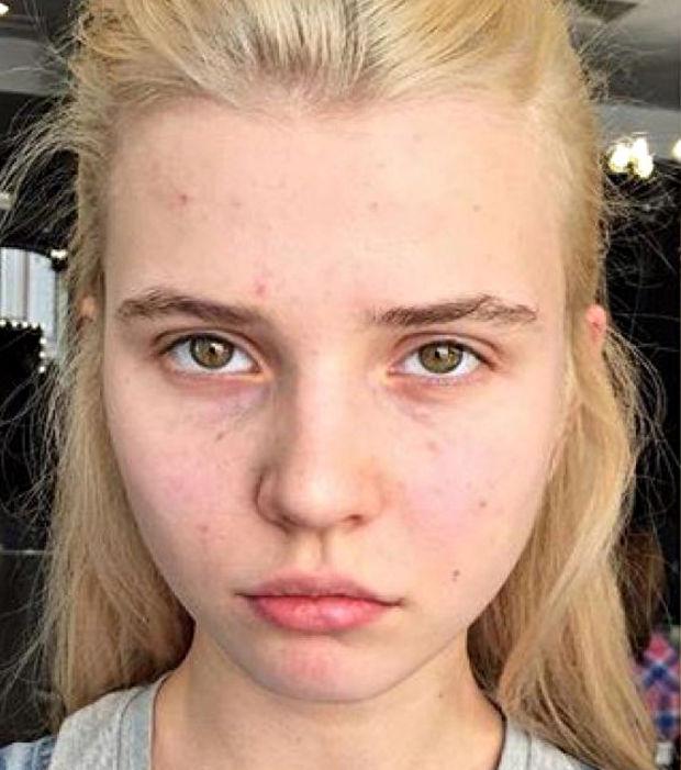 les plus belle femme sans maquillage
