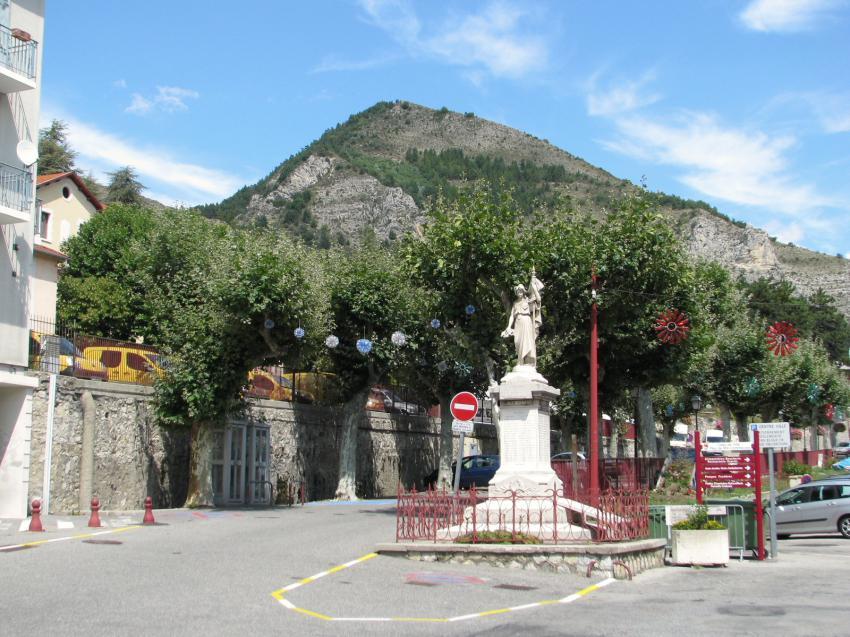 monument drapeau france