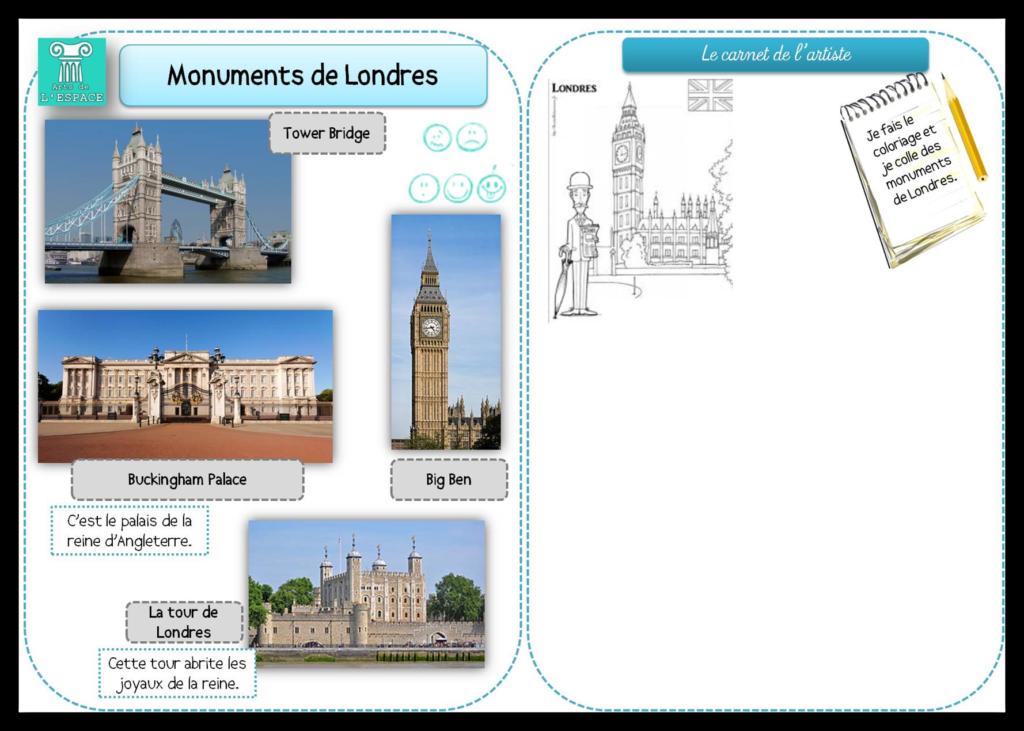 monuments anglais cm1