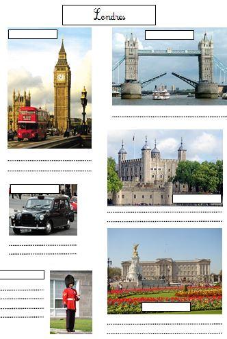 monuments anglais cm2