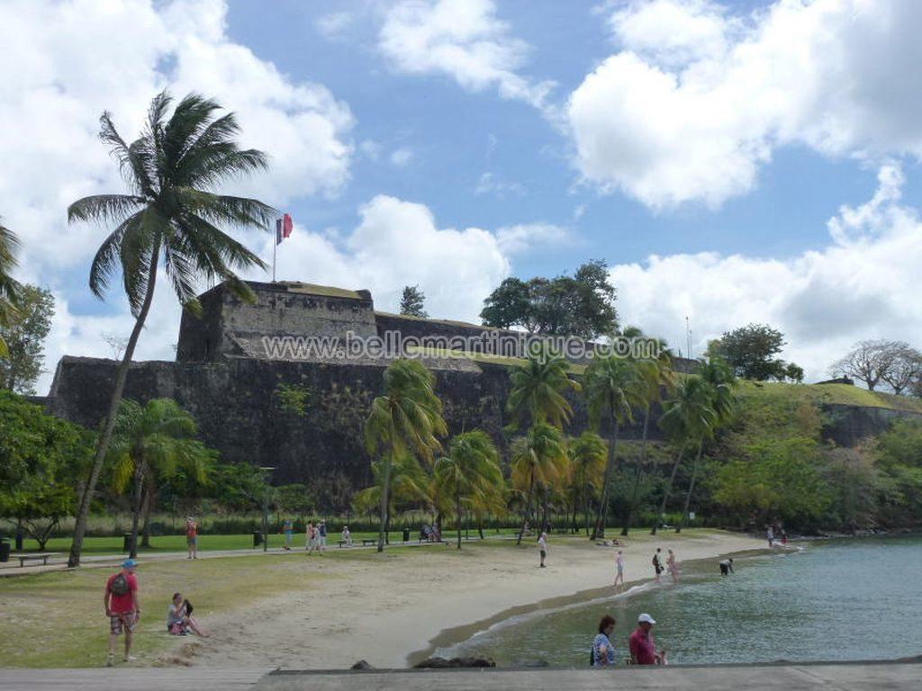 monuments fort de france martinique