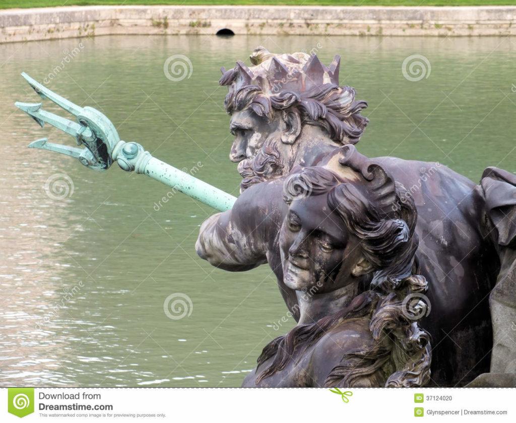 neptune statue france