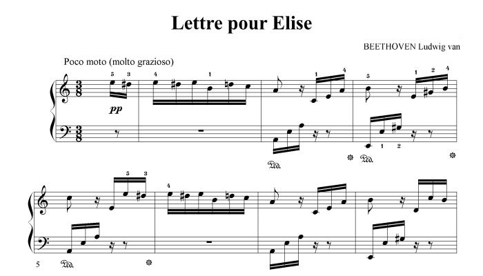 beethoven chanson
