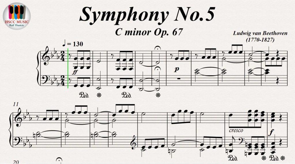 beethoven symphonie 5