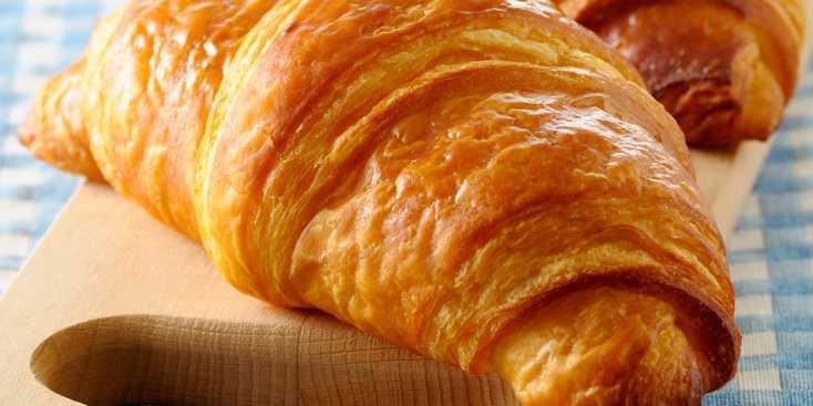 croissant au beurre calories