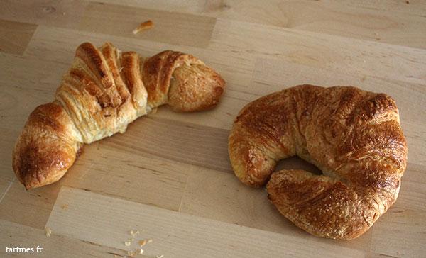 croissant beurre ou ordinaire