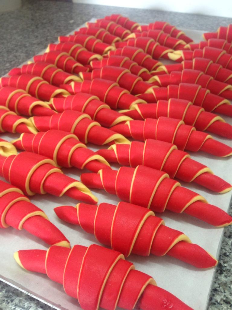 croissant bicolore