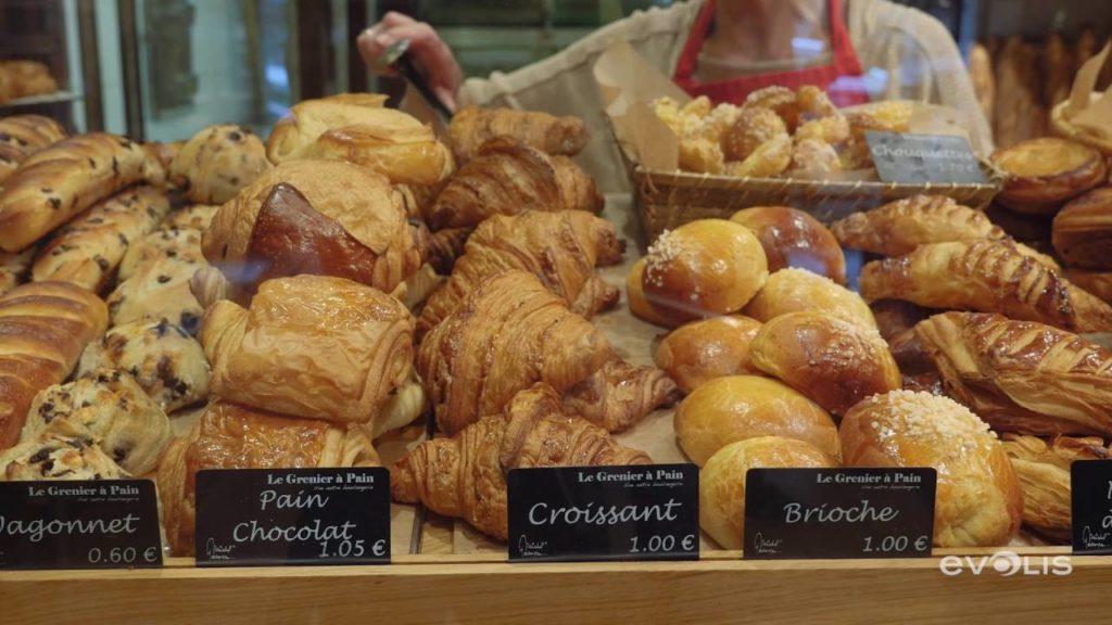 croissant boulangerie prix