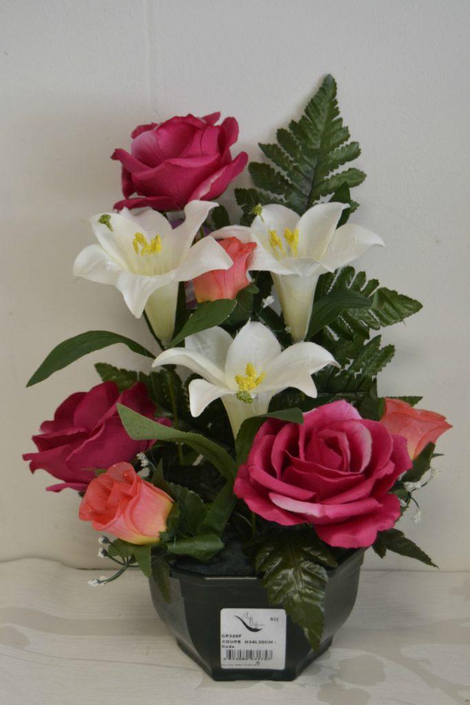 fleurs artificielles pas cher