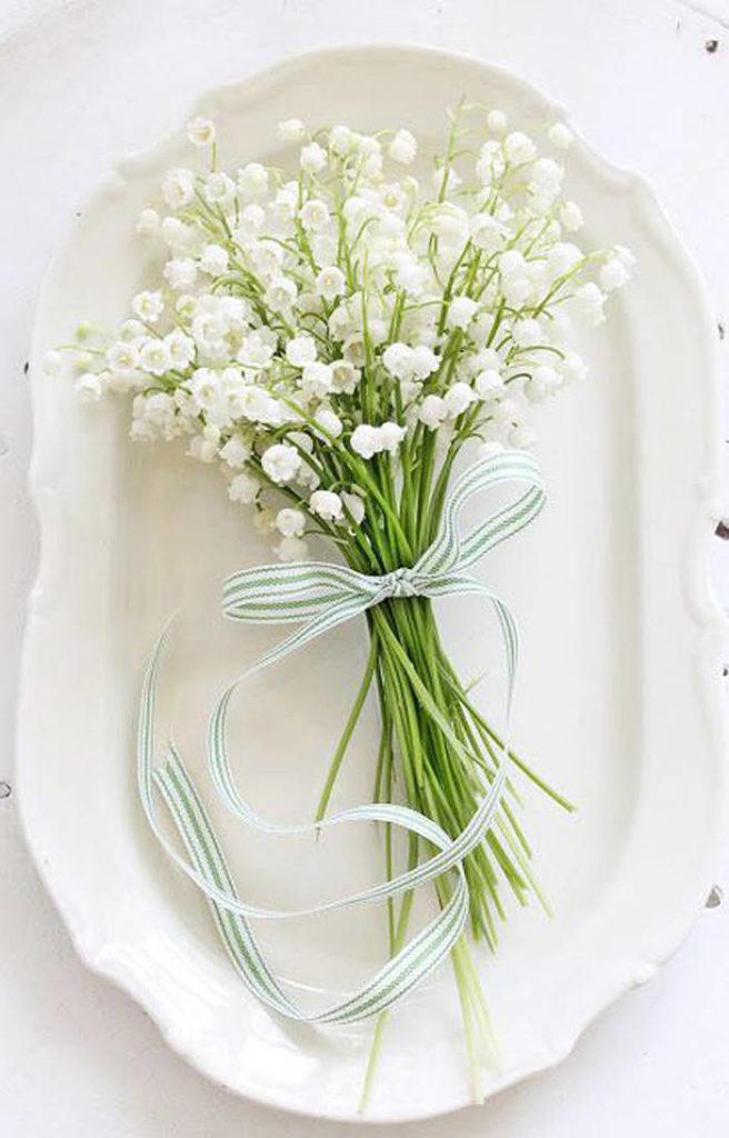 fleurs blanches pour bouquet