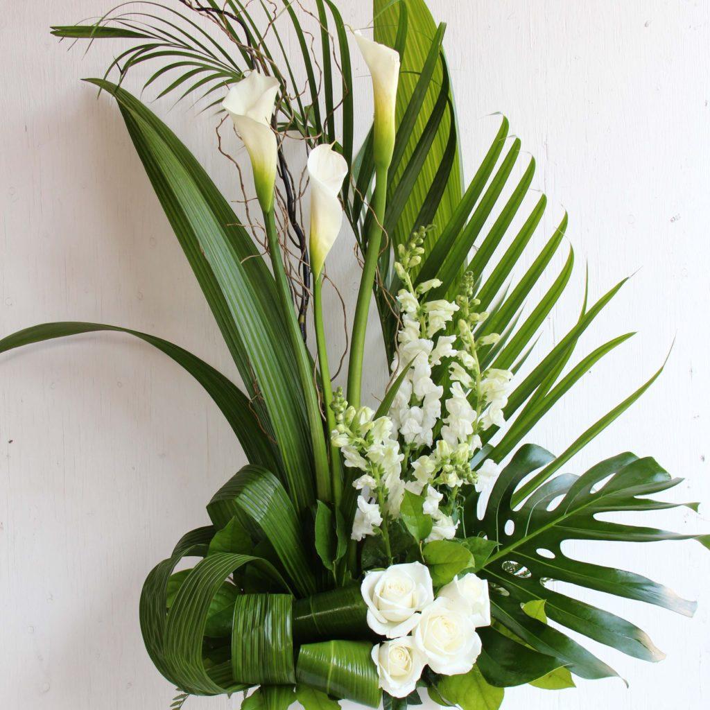 fleurs funéraire