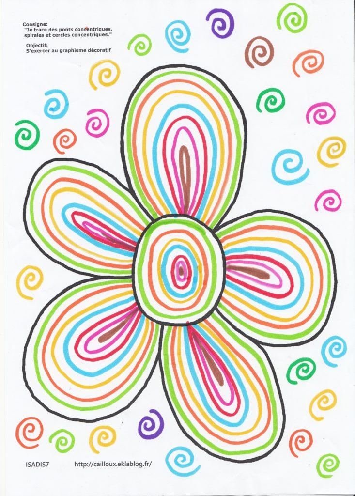 fleurs graphisme