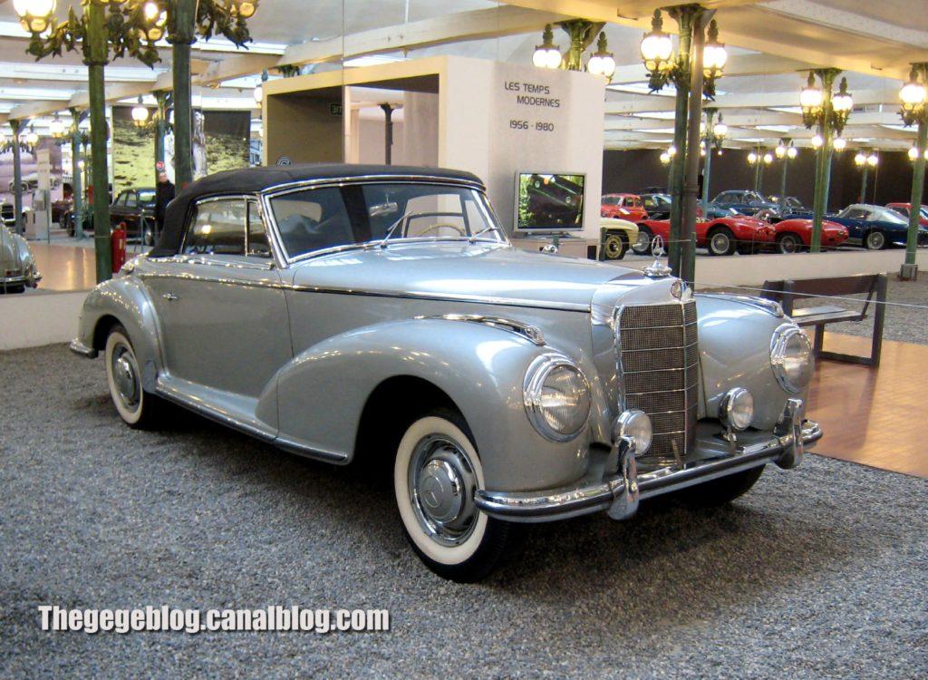 mercedes 300 cabriolet de 1952