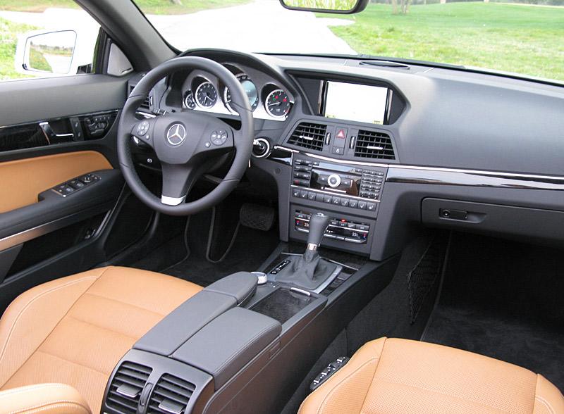 mercedes e350 cabriolet dimensions