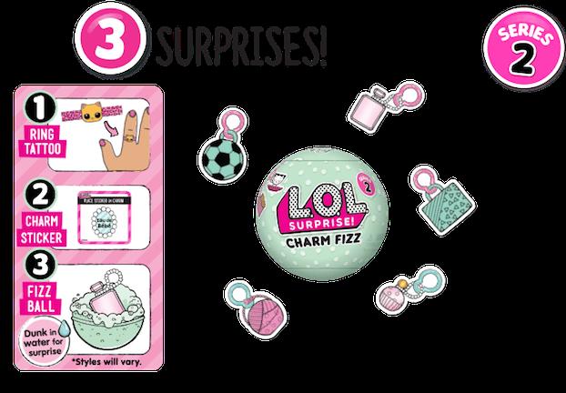l.o.l. surprise lil sisters doll - series 2