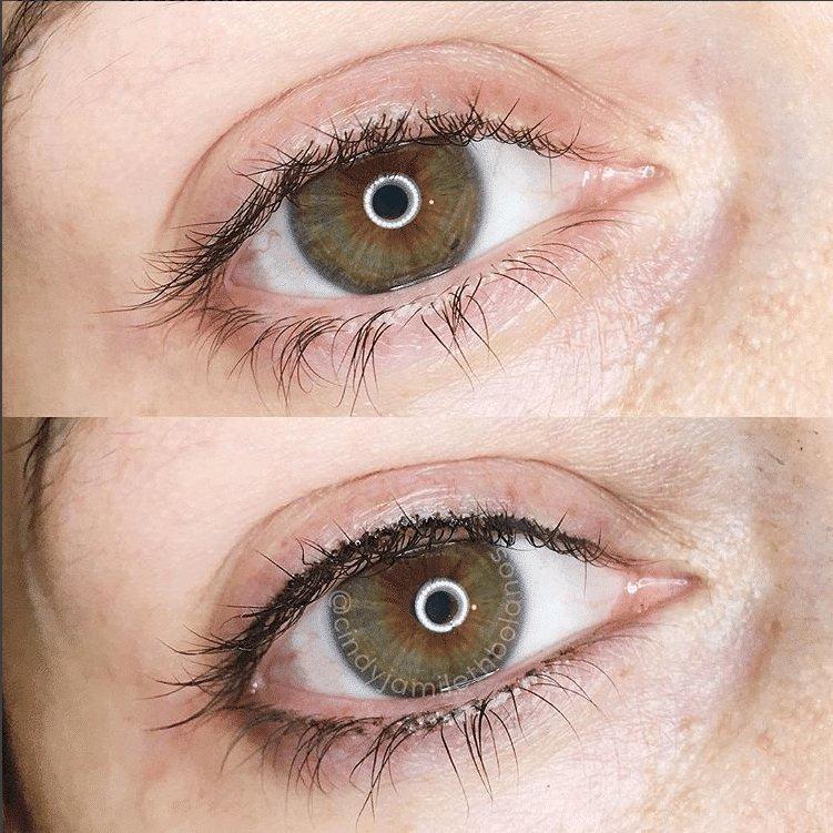 maquillage permanent cils