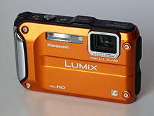appareil photo compact étanche