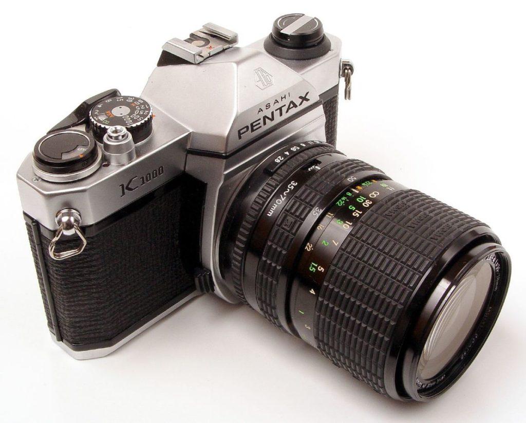 appareil photo reflex pentax