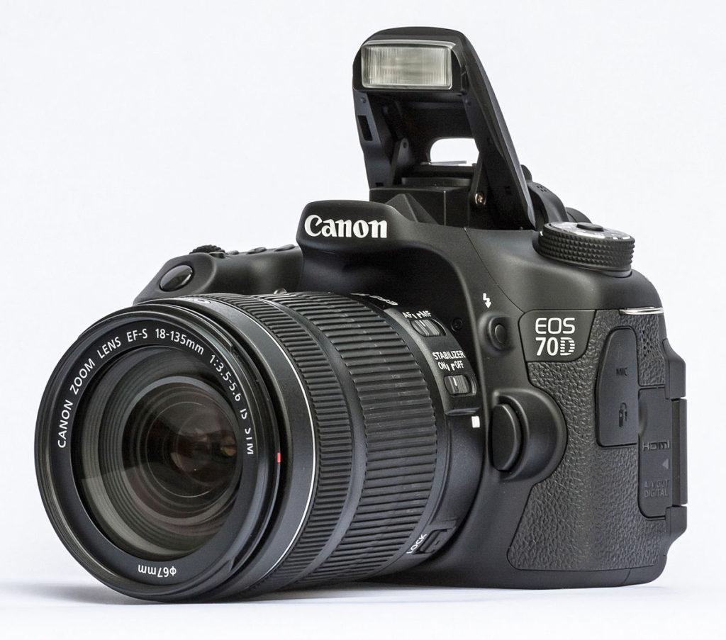 canon eos 70d 18-135