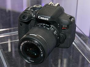 canon eos 750d prix