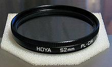 hoya filtre polarisant