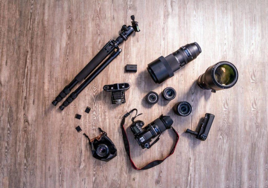 materiel photographe