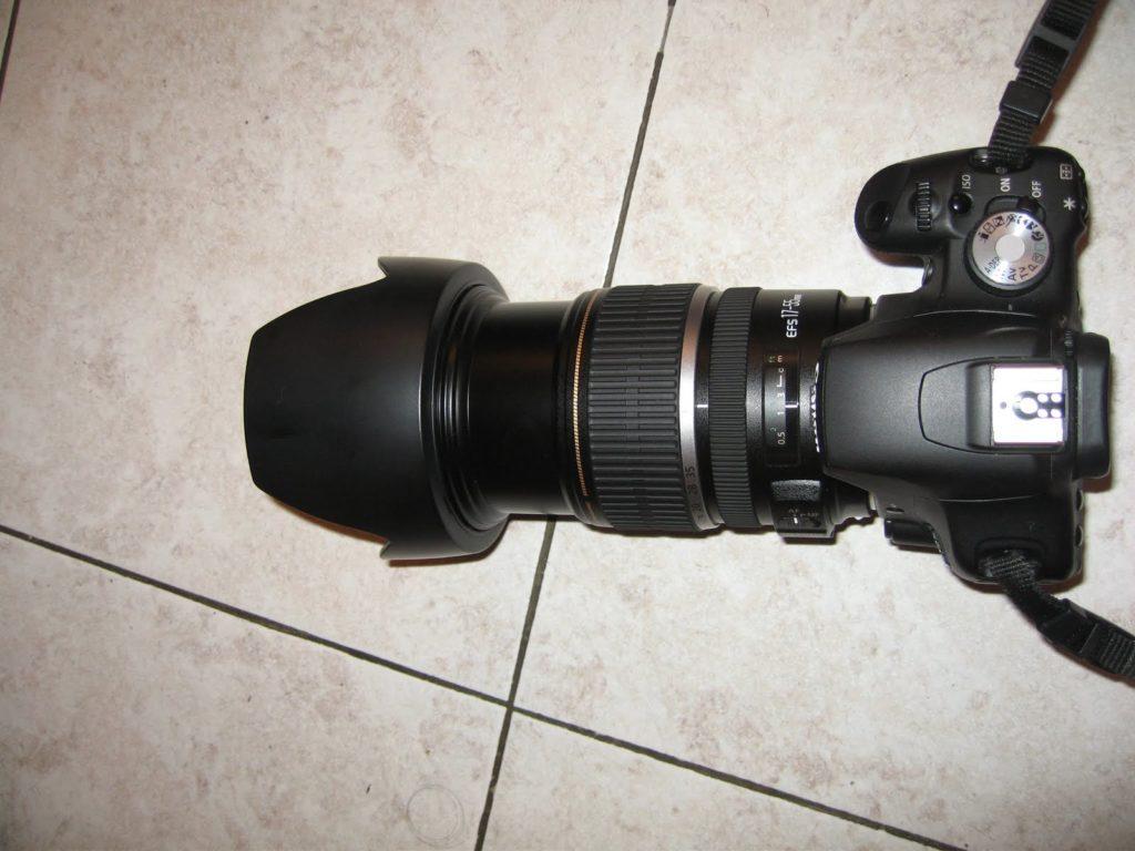 objectif canon 18 55