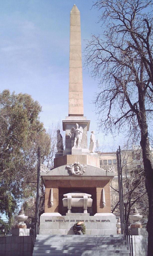 photo monument de madrid